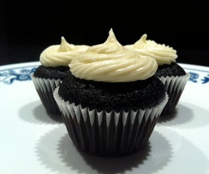 Haymitch Chocolate Whiskey Hunger Games Cupcakes