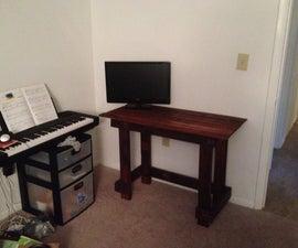 Pallet Wood Simple Desk