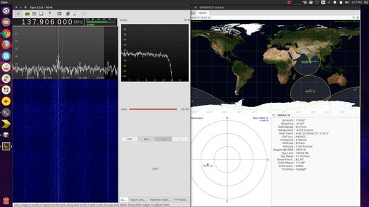 Recording Signals From Satellites