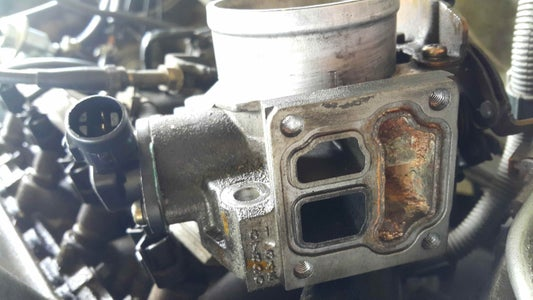 Install the New Valve and Reassemble.