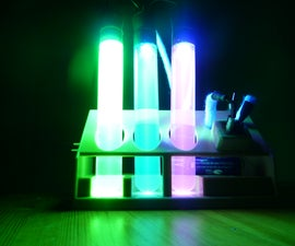 Joule Thief LED Nightlight (with fluorescent science design) (!)