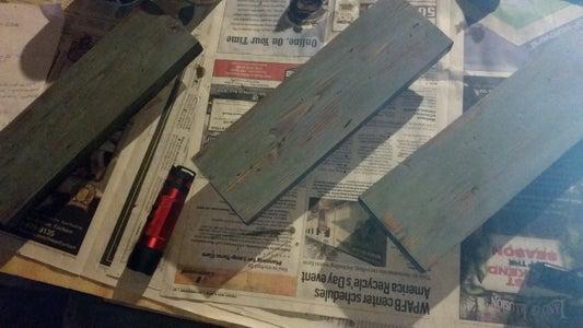 Distressed Wood Look