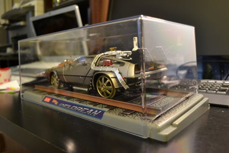 Optional - Make a Custom Display Case for BTTF III Car