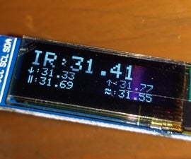 IR Thermometer With Mlx90614