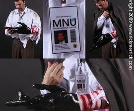 District 9 costume, Wikus Van De Merwe prawn arm