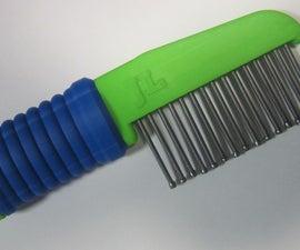 3D Printed Dog Comb