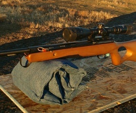 Denim Adjustable Folding Shooting Sandbag