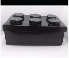 Lego Design Storage Shoebox