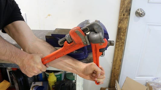 PIPE WRENCH EXTENSIONS