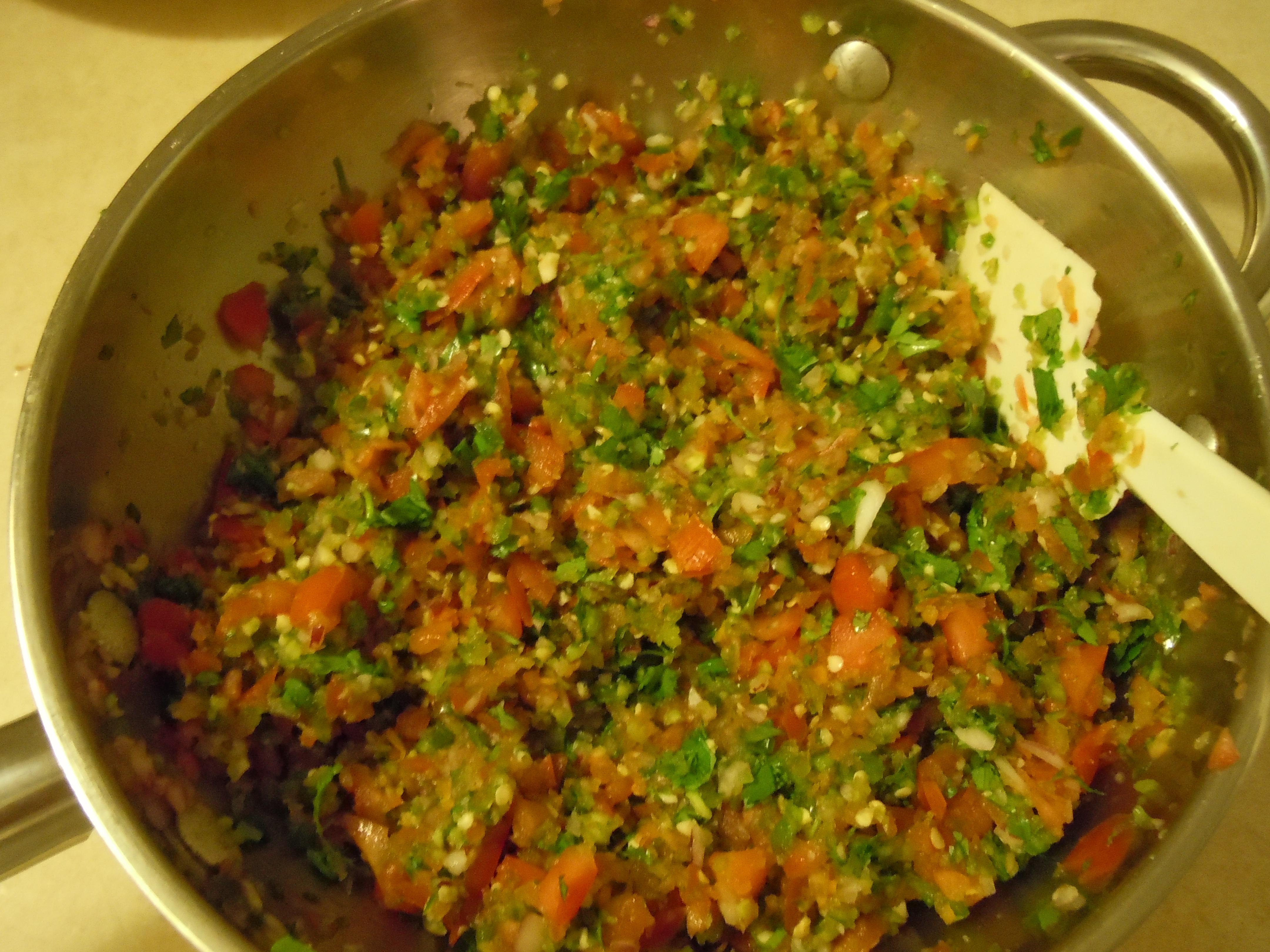 Picture of Spicy 3-Pepper Pico De Gallo
