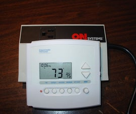 Space Heater Controlled by Digital Thermostat