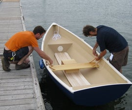 Stitch and Glue Rowing Boat