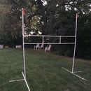 PVC goalposts - easy project