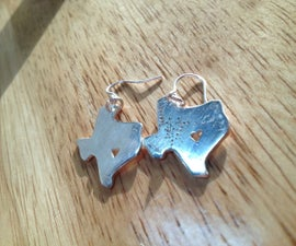 Turn clay into Silver Earrings!!!