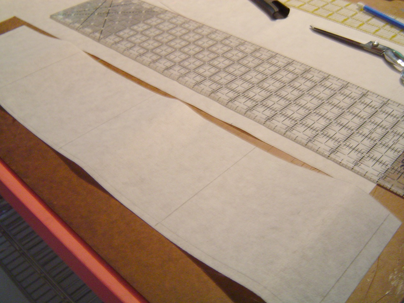 Picture of Cutting Fabric for Bag