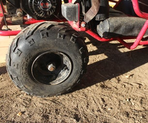 How to Change a Tire (gocart, Lawn Mower, Ect.)