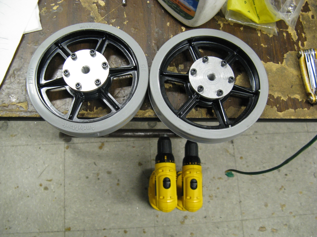 Picture of Drive Wheels.