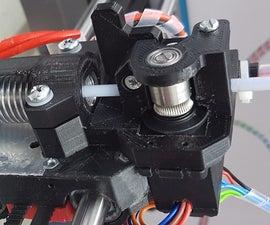 RCServo Extruder - 96 Grams Direct Drive