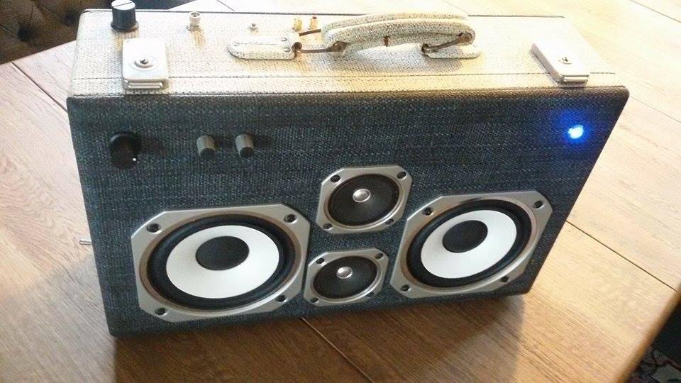 Picture of Portable Bluetooth Boomcase