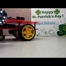 """St. Patrick's Day """"Pinch Detector"""" With Circuit Playground"""