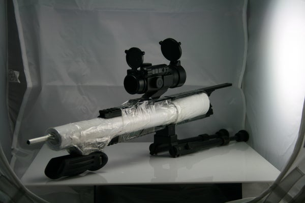 """DIY"" Airsoft Blow Gun"