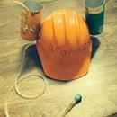 Summer Soda Hat W/ built in fan