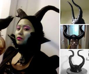 6 Ways to Make Maleficent Horns