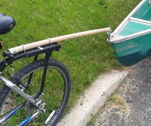 Bicycle Canoe Cart