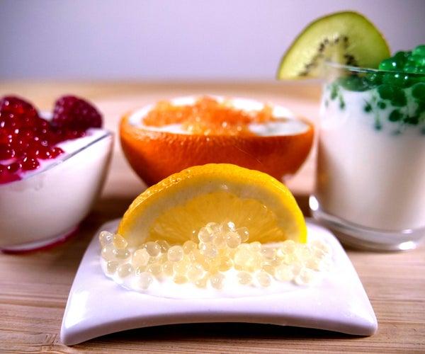 Fruit Caviar - Molecular Gastronomy