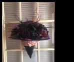 Witch Hat Decoration Wreath