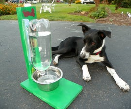 The Awesomest Coolest Easiest Water Bowl for DOGS & CATS!