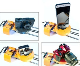 MOTORIZED CAMERA SLIDER With TRACKING SYSTEM (3D Printed)