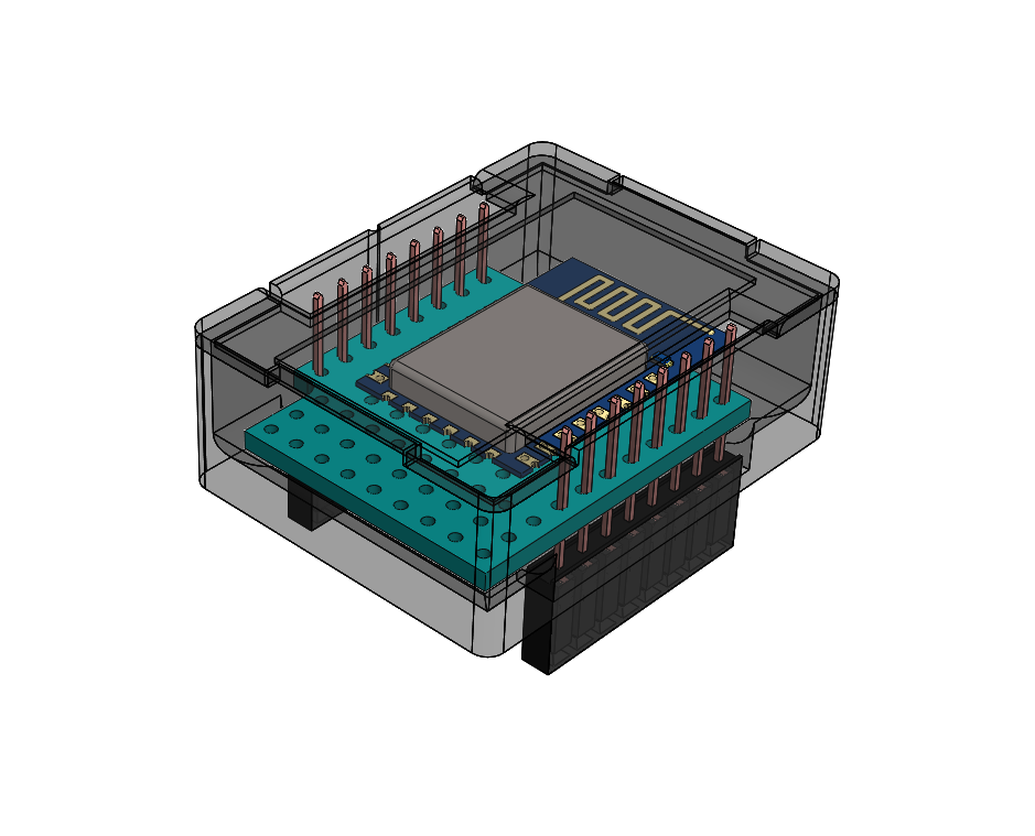 Picture of IOT123 - D1M ESP12 - Assembly