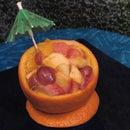 Barbequed Fruit Salad bowls