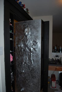 Bookcase / Han in Carbonite Hidden Door