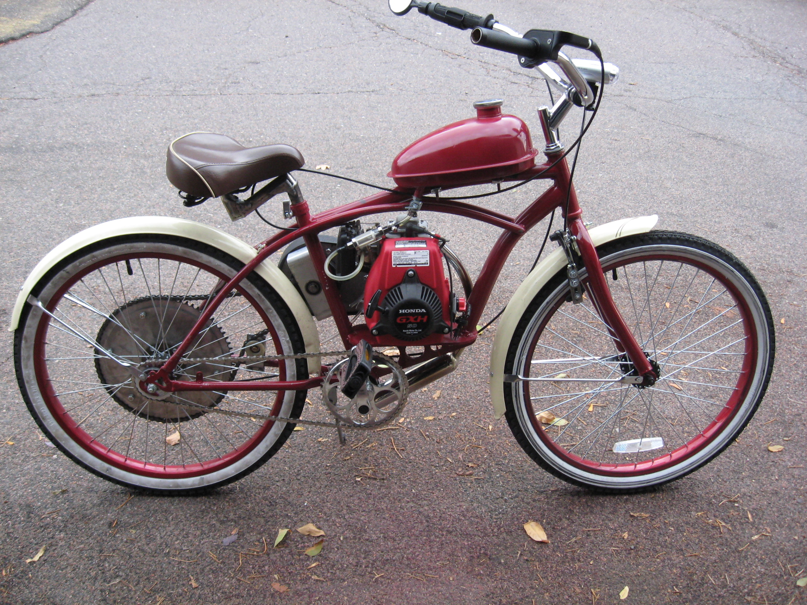 Picture of Motorized Bicycle DIY: the Hard Way