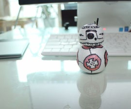 BB-8 Bounce back Toy