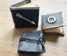 Mini Leather Books