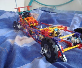 Knex EDF powered RC  car!