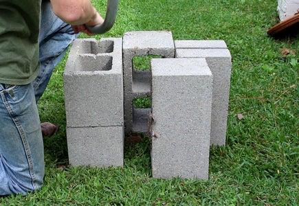 Cinderblock Base