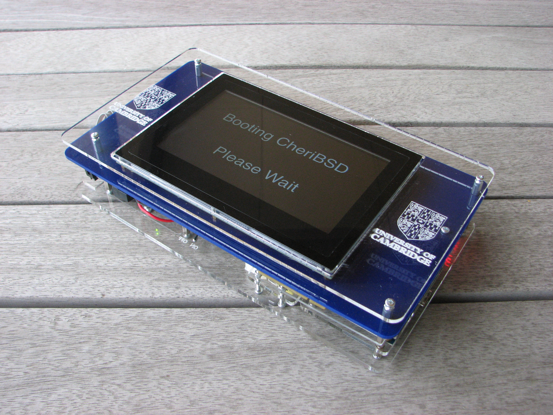 Picture of DE4 FPGA Tablet