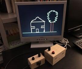 VGA Etch-a-Sketch With Arduino Uno