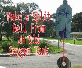 Make a Split Bell From an Old Oxygen Tank