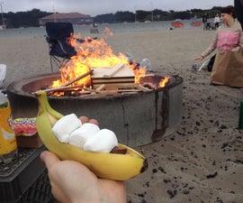 Bonfire Banana Boat