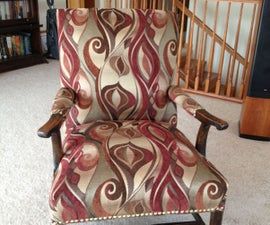 Reupholster a Chair From the Bones Up