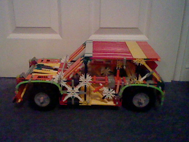 Picture of Knex Cool Rally Car.