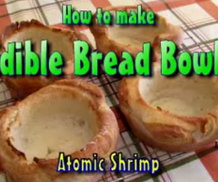 How to Make Edible Bread Bowls