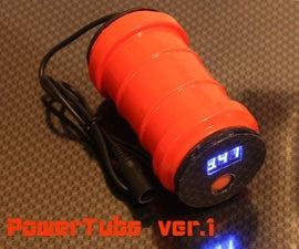 PowerTube Vr. 1 for bicycle headlight