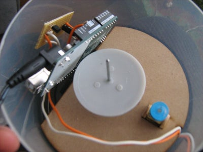 Connect the Arduino to the Power Supply and to the Soldered Circuit