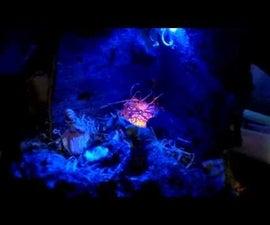 Quick'n'easy fireplace for nativity scene (presepe)